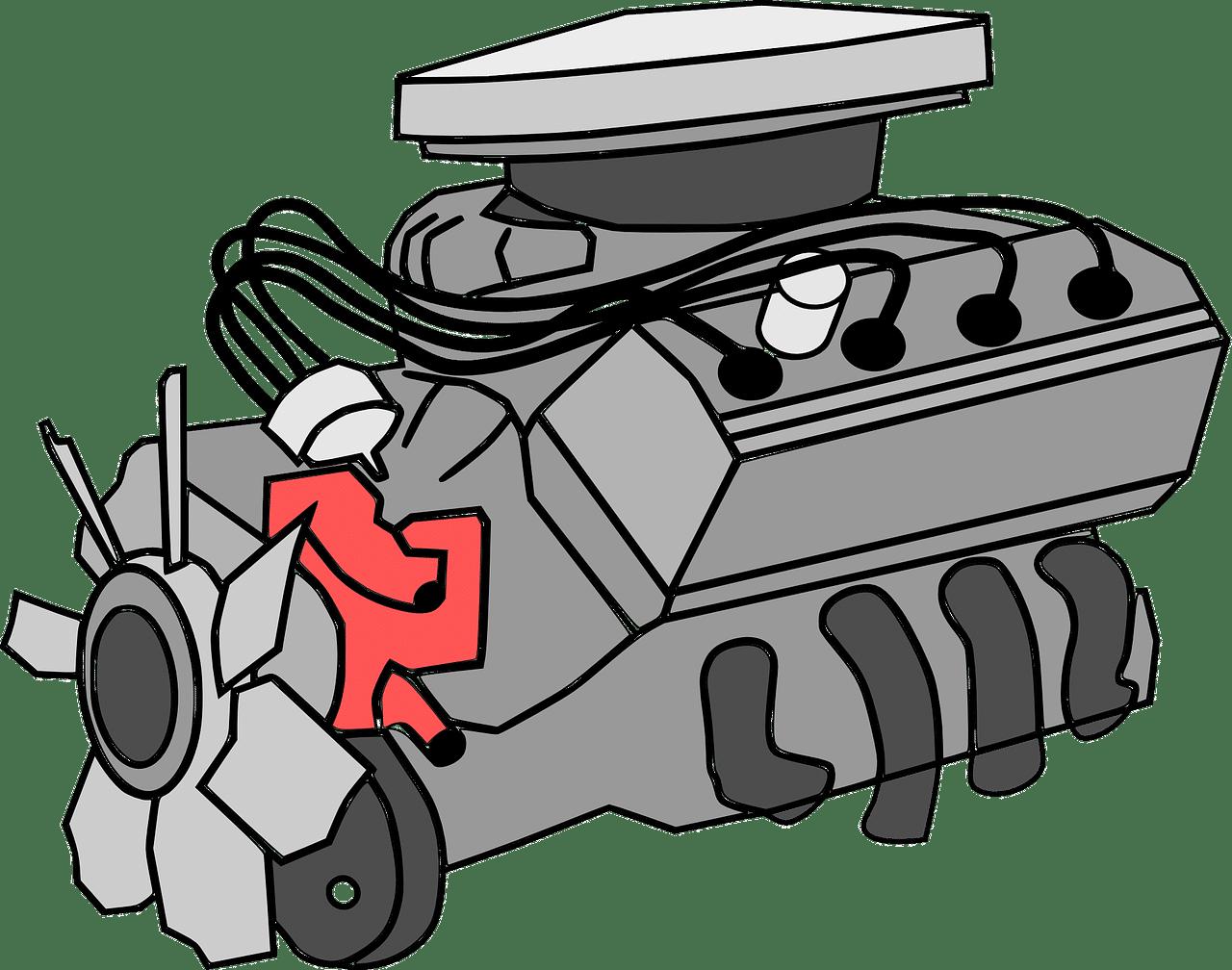 איור של מנוע
