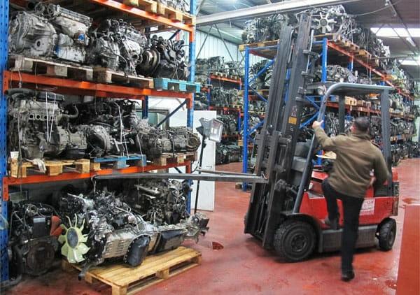 מחסן מנועים חדשים מיבוא
