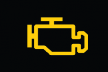 נורות המצביעות על תקלה במנוע